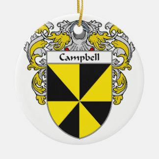 Escudo de armas de Campbell/escudo de la familia Adorno Redondo De Cerámica