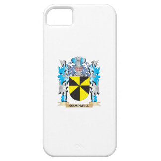 Escudo de armas de Campbell - escudo de la familia iPhone 5 Case-Mate Funda
