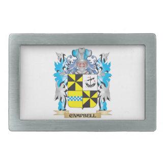Escudo de armas de Campbell - escudo de la familia Hebillas Cinturon Rectangulares