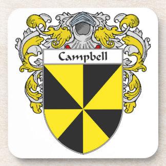 Escudo de armas de Campbell/escudo de la familia Posavasos De Bebidas
