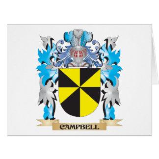 Escudo de armas de Campbell - escudo de la familia Tarjeton