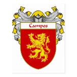 Escudo de armas de Campos/escudo de la familia Postal