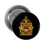 Escudo de armas de Canadá - escudo de Canadá Pin