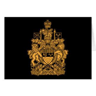 Escudo de armas de Canadá - escudo de Canadá Felicitaciones