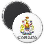 Escudo de armas de Canadá Imanes Para Frigoríficos