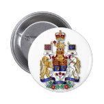 Escudo de armas de Canadá Pins