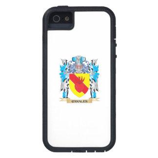 Escudo de armas de Canales - escudo de la familia iPhone 5 Case-Mate Funda