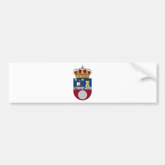 Escudo de armas de Cantabria (España) Pegatina Para Coche