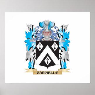 Escudo de armas de Cappiello - escudo de la famili Poster