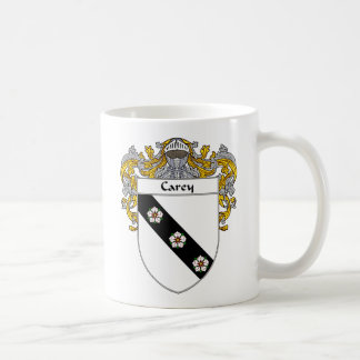 Escudo de armas de Carey (cubierto) Taza Clásica