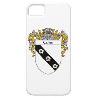 Escudo de armas de Carey/escudo de la familia iPhone 5 Carcasa