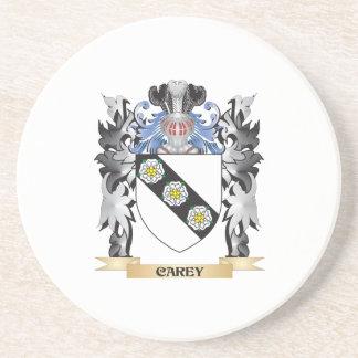 Escudo de armas de Carey - escudo de la familia Posavasos Diseño