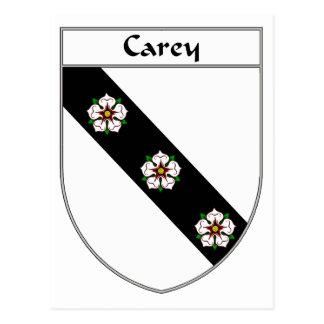 Escudo de armas de Carey/escudo de la familia Postal