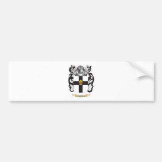 Escudo de armas de Carill (escudo de la familia) Pegatina Para Auto