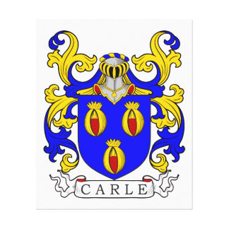 Escudo de armas de Carle Impresion De Lienzo