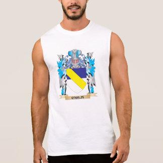 Escudo de armas de Carlin - escudo de la familia Camisetas Sin Mangas