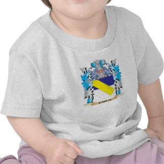 Escudo de armas de Carlin - escudo de la familia Camiseta