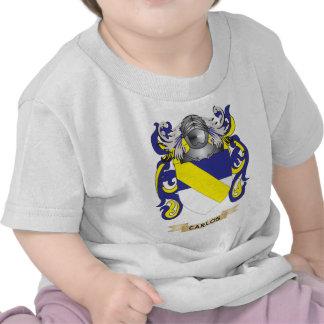 Escudo de armas de Carlos (escudo de la familia) Camiseta