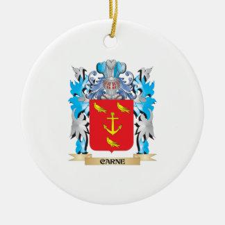 Escudo de armas de Carne - escudo de la familia Ornamente De Reyes