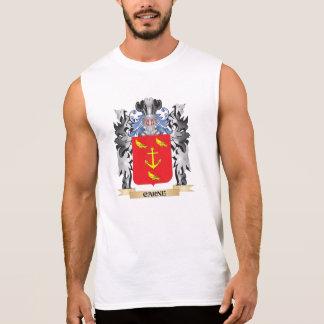 Escudo de armas de Carne - escudo de la familia Camiseta Sin Mangas
