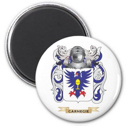 Escudo de armas de Carnegie (escudo de la familia) Imán De Frigorífico