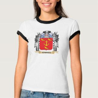 Escudo de armas de Carnes - escudo de la familia T-shirts