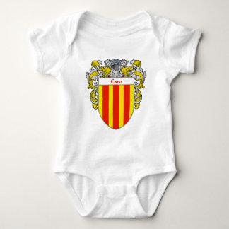 Escudo de armas de Caro (cubierto) Body Para Bebé