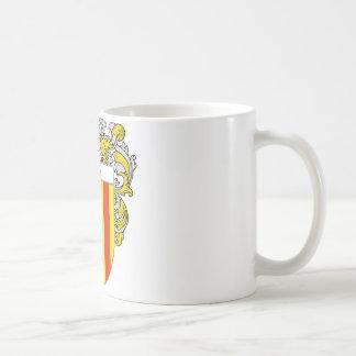 Escudo de armas de Caro (cubierto) Taza De Café