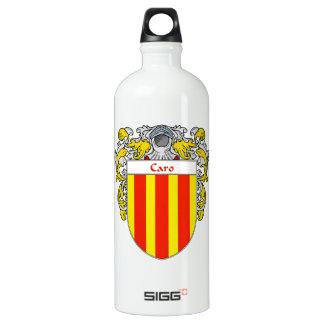 Escudo de armas de Caro/escudo de la familia Botella De Agua