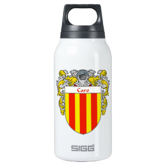 Escudo de armas de Caro/escudo de la familia Botella Isotérmica De Agua