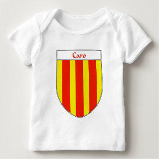 Escudo de armas de Caro Playera De Bebé