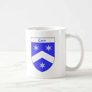 Escudo de armas de Carr/escudo de la familia Taza