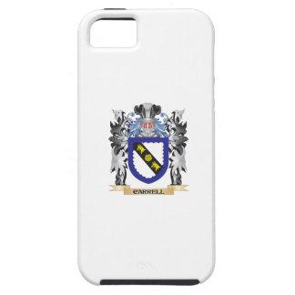 Escudo de armas de Carrell - escudo de la familia iPhone 5 Carcasas