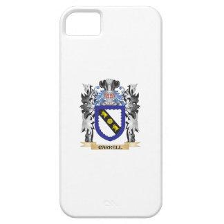Escudo de armas de Carrell - escudo de la familia iPhone 5 Funda