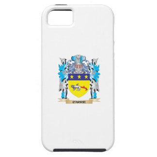 Escudo de armas de Carrie - escudo de la familia iPhone 5 Case-Mate Cobertura