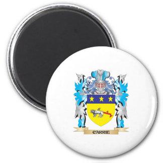 Escudo de armas de Carrie - escudo de la familia Imanes Para Frigoríficos