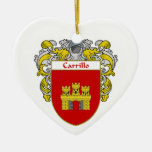 Escudo de armas de Carrillo/escudo de la familia Adornos