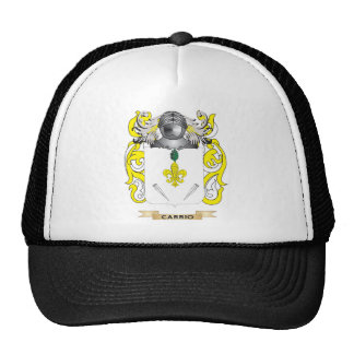 Escudo de armas de Carrio (escudo de la familia) Gorro De Camionero