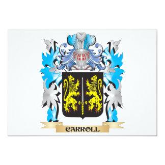 Escudo de armas de Carroll - escudo de la familia Anuncios Personalizados