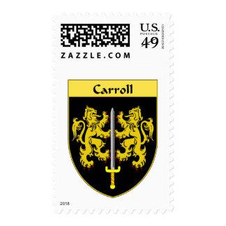Escudo de armas de Carroll/escudo de la familia Sellos