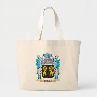 Escudo de armas de Carvill - escudo de la familia Bolsa