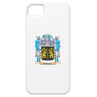 Escudo de armas de Carvill - escudo de la familia iPhone 5 Case-Mate Cobertura