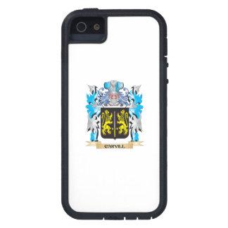 Escudo de armas de Carvill - escudo de la familia iPhone 5 Case-Mate Cárcasa