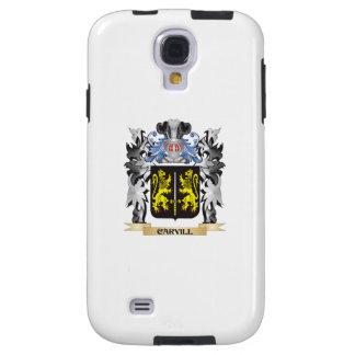 Escudo de armas de Carvill - escudo de la familia Funda Para Galaxy S4