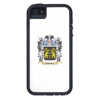 Escudo de armas de Carvill - escudo de la familia iPhone 5 Carcasa