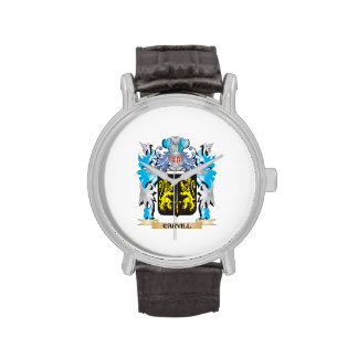 Escudo de armas de Carvill - escudo de la familia Reloj