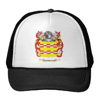 Escudo de armas de Casella (escudo de la familia) Gorra