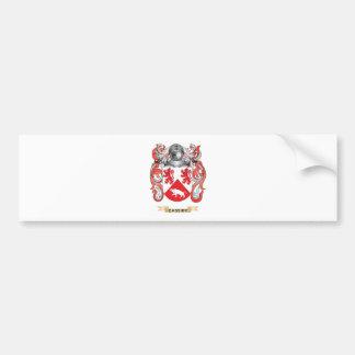 Escudo de armas de Cassidy (escudo de la familia) Etiqueta De Parachoque