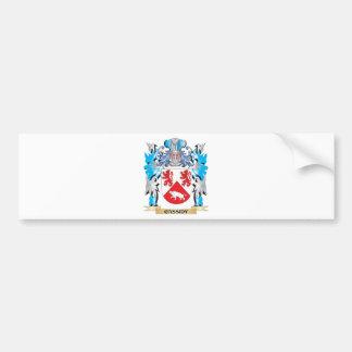 Escudo de armas de Cassidy - escudo de la familia Pegatina Para Coche