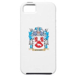 Escudo de armas de Cassidy - escudo de la familia iPhone 5 Cárcasas